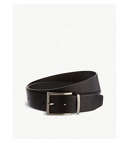 HUGO BOSS Leather belt (Black