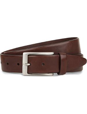 HUGO BOSS Eberio smooth-leather belt