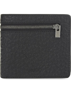 HUGO BOSS Grainy leather wallet