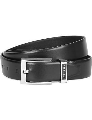 HUGO BOSS Branded keeper belt