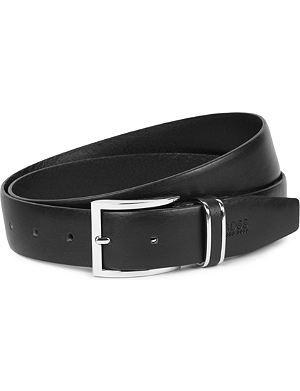 HUGO BOSS Froppin leather belt
