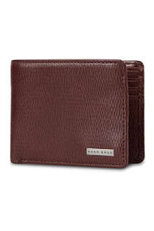 HUGO BOSS Lillis Spiga leather billfold