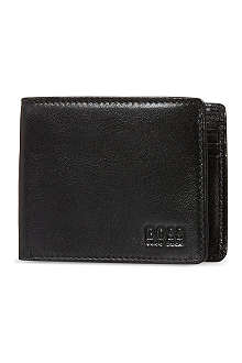 HUGO BOSS Soft calf leather billfold