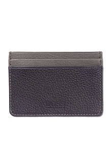 HUGO BOSS Leather card case