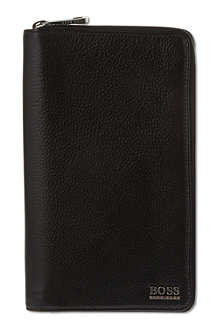 HUGO BOSS Soft leather organiser