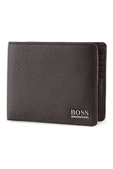 HUGO BOSS Soft leather billfold