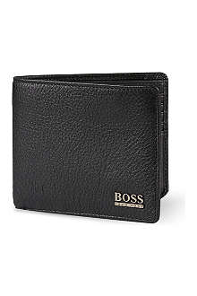HUGO BOSS Leather billfold wallet