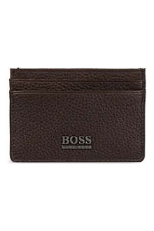 HUGO BOSS Classic grained card holder