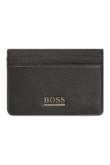 HUGO BOSS Leather credit card holder