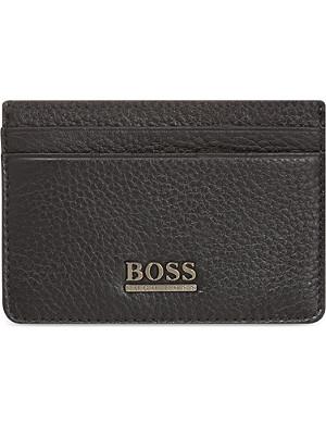 HUGO BOSS Leather credit card holder