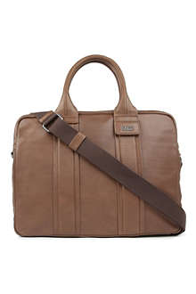 HUGO BOSS Saltin leather work bag