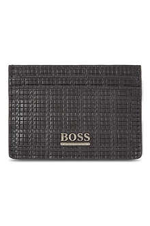 HUGO BOSS Printed card case