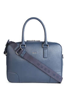 HUGO BOSS Westin Spiga leather business bag