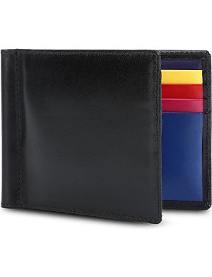LAUNER Billfold leather wallet