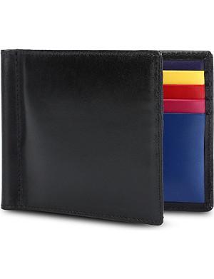 LAUNER Billfold leather wallet