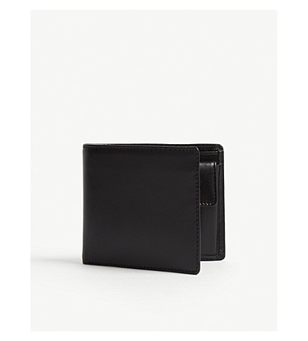 LAUNER Billfold wallet with coin pouch black (Black