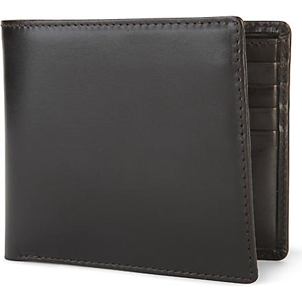 LAUNER Eight card billfold wallet (Brown