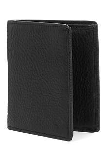 MULBERRY Mini tri-fold natural-leather wallet