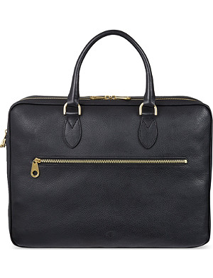 MULBERRY Leather Heathcliffe briefcase