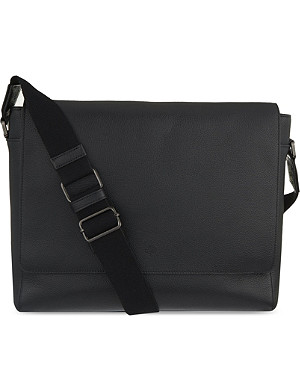 MULBERRY Maxwell grained leather messenger bag