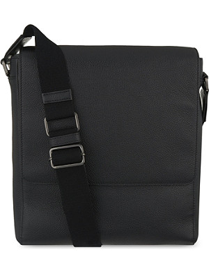MULBERRY Maxwell slim grained leather messenger