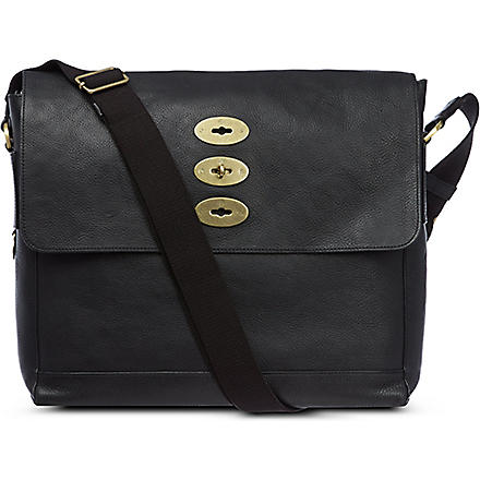 MULBERRY Brynmore leather messenger bag (Black
