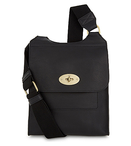 MULBERRY Anthony small messenger bag (Black