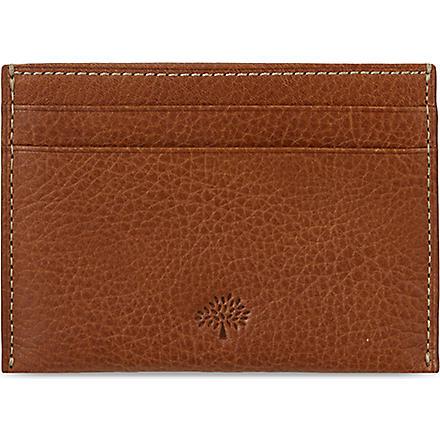MULBERRY Credit card slip (Oak