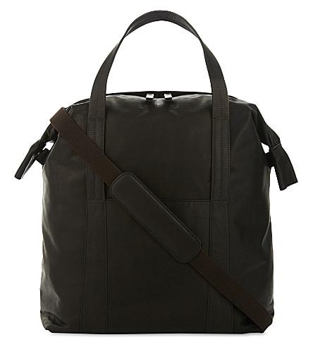 MAISON MARGIELA Leather tote (Black