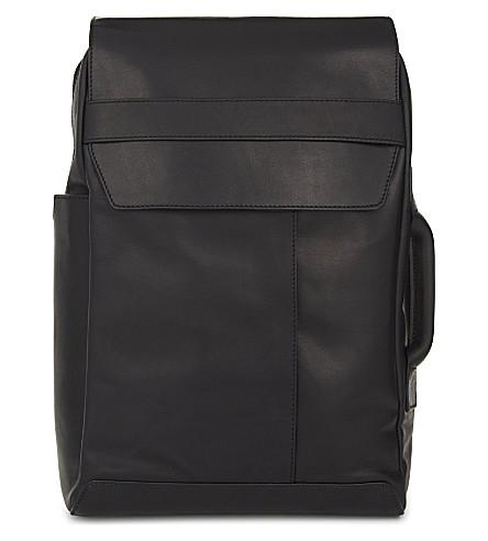 MAISON MARGIELA Leather backpack (Black