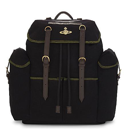 VIVIENNE WESTWOOD Army backpack (Black