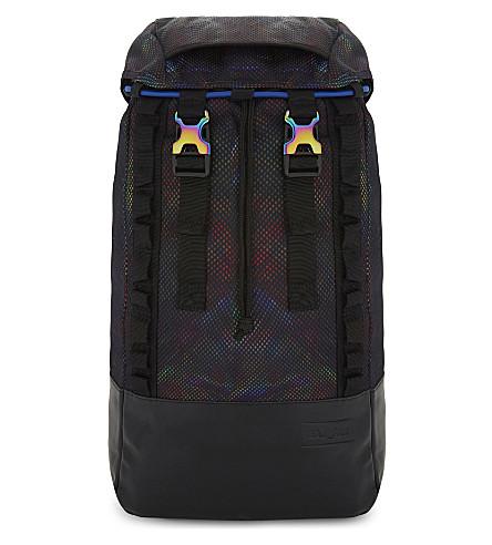 EASTPAK Bust Raeburn Camouflage Backpack in Black
