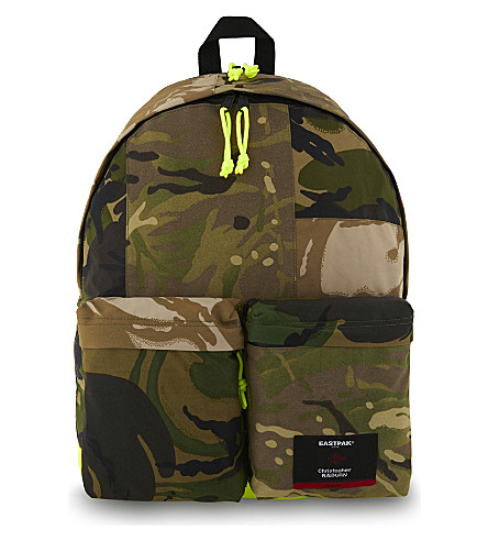 EASTPAK Christopher Raeburn Padded Pak'r camouflage backpack (Camo