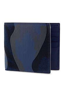 VALENTINO Marine camo wallet