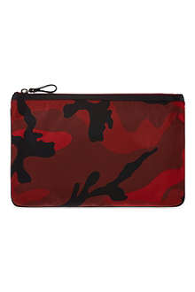 VALENTINO Camouflage pouch