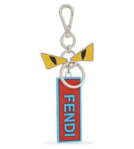 FENDI Bugs eyes / Love Fendi bag charm (Multi