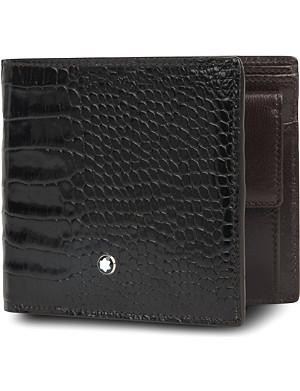 MONTBLANC Meisterstück 4CC croc-embossed wallet