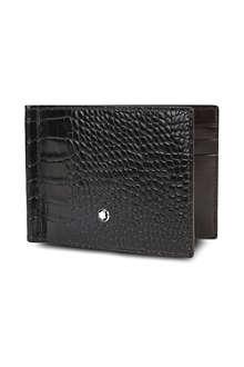MONTBLANC Meisterstück 6CC croc-embossed wallet