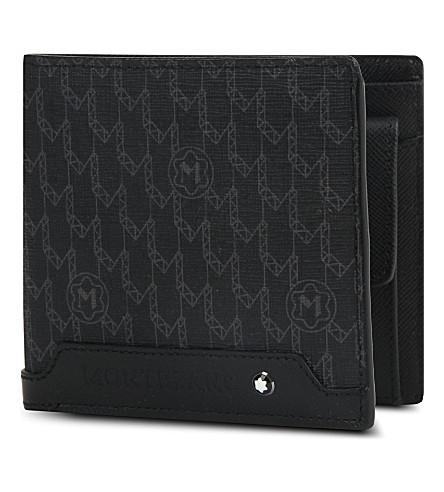 MONTBLANC Signature 4CC billfold wallet (Black