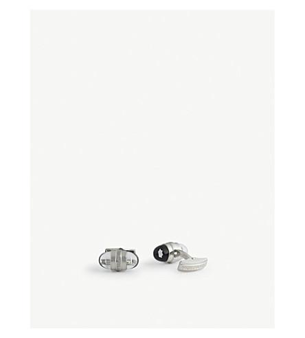 MONTBLANC Oval logo cufflinks (Silver