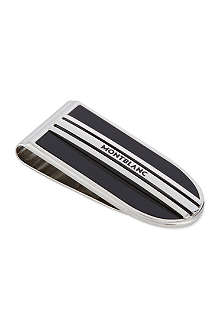 MONTBLANC Onyx stripe money clip