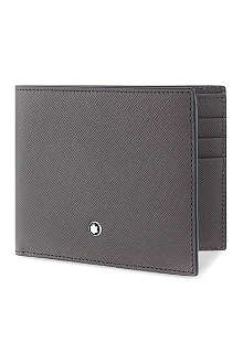 MONTBLANC Safiano leather wallet