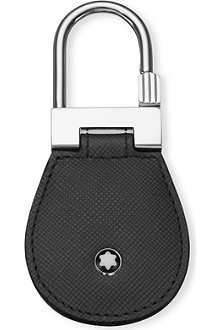 MONTBLANC Meisterstück safiano leather key fob