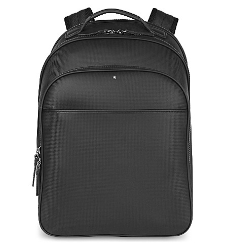 MONTBLANC Extreme leather backpack (Black