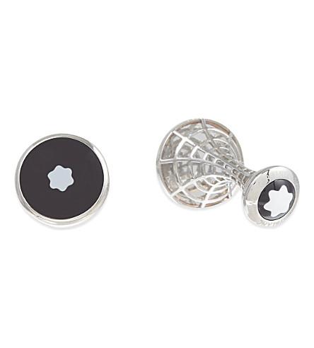 MONTBLANC Iconic star cufflinks (Silver