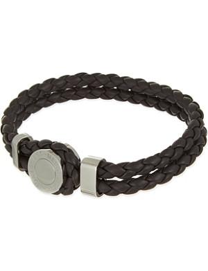 MONTBLANC Meisterstück Iconic leather bracelet