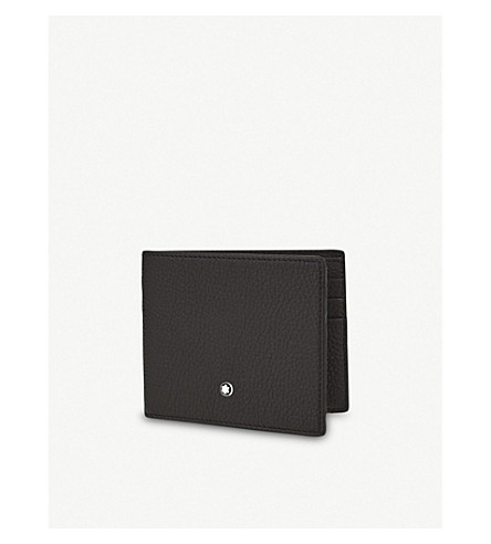 MONTBLANC Meisterstück Soft Grain leather wallet (Black