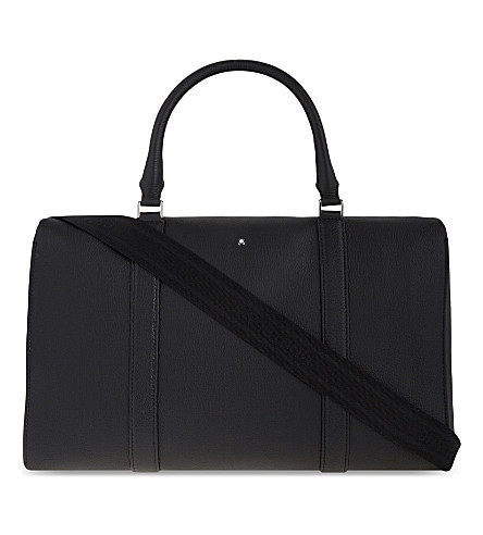 MONTBLANC Meisterstück soft grain small leather duffle (Black