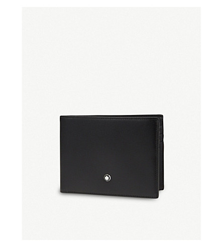 MONTBLANC Leather billfold wallet (Black