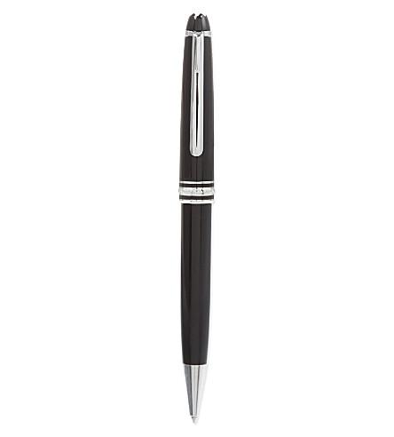 MONTBLANC Meisterstück classic ballpoint pen (Black+silver